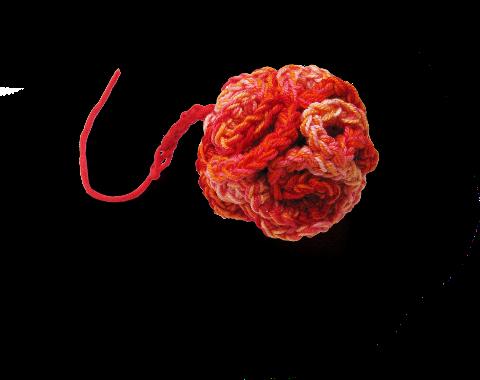 Mon pompon hyperbolique au crochet