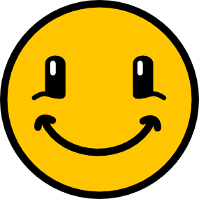 Smiley vectorier agrandi 5 fois