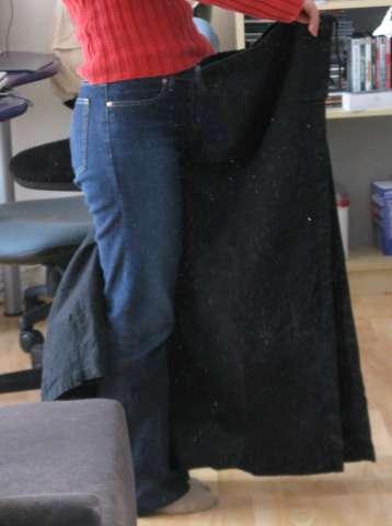 Pantalon thaï enjambé